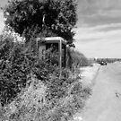 Rural Telephone Box by RedSteve