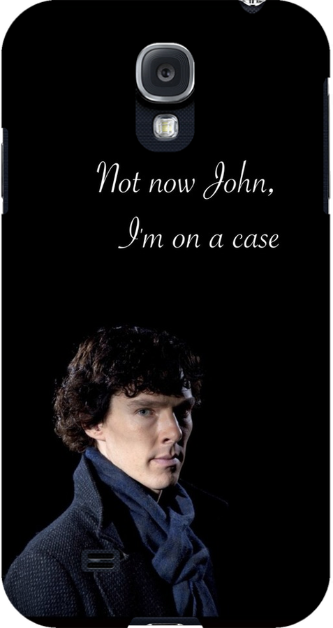 Not Now John I'm On A Case by EmmaPopkin