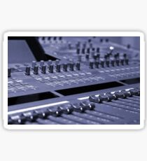 Mixing Console Sticker