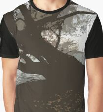 Spooky Tree Graphic T-Shirt