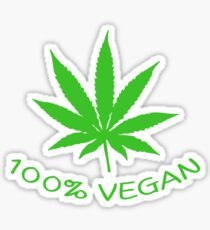 100% VEGAN Sticker