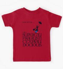 Mary Poppins - Supercalifragilisticexpialidocious Kids Tee
