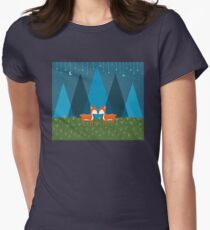 Cute Deer Illustration T-Shirt