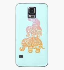 Elephant Family in Color Case/Skin for Samsung Galaxy