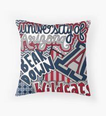 University of Arizona Throw Pillow