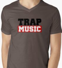 TRAP MUSIC - BASS PARTY Mens V-Neck T-Shirt