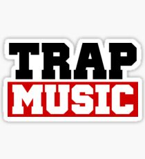 TRAP MUSIC - BASS PARTY Sticker