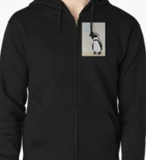 Ready for Anything Penguin Zipped Hoodie