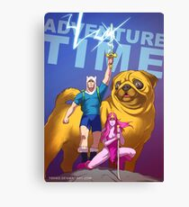 Adventure Time Badass Canvas Print