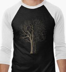 Digital Tree Men's Baseball ¾ T-Shirt