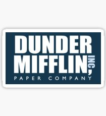 graphic about Dunder Mifflin Name Tag Printable identified as John Krasinski Presents Items Redbubble