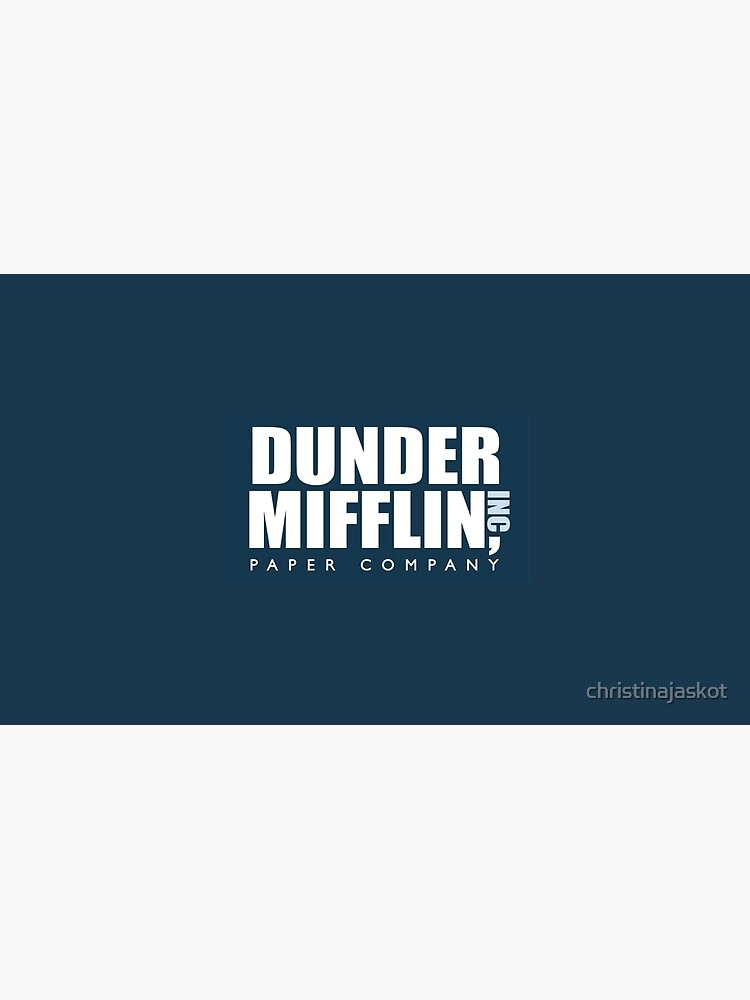 Dunder Mifflin - The Office by christinajaskot
