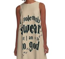 I solemnly swear A-Line Dress