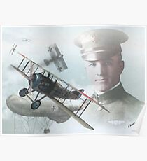2nd Lt. Frank Luke Jr Poster