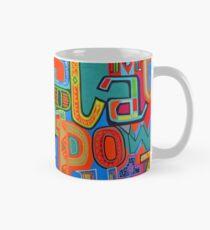 Colourful Alphabet Wall Arts Mug