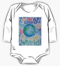 Be the Change You Wish to See One Piece - Long Sleeve
