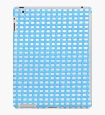 Blue Knit iPad Case/Skin
