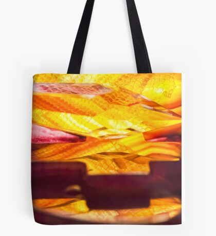 Faith in Flames Tote Bag