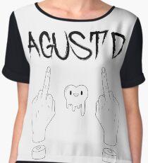 Agust D! (Black & White) Chiffon Top
