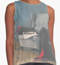 Vintage Chair Contrast Tank