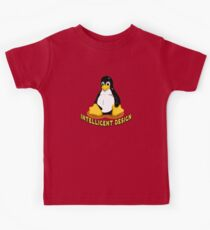 Linux Penguin Intelligent Design Kids Clothes