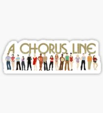A Chorus Line Sticker