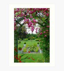 Worcestershire Garden Art Print