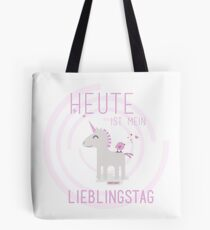 Unicorn - Today is my favorite day Tote Bag
