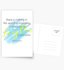 laughter and good humor Postcards