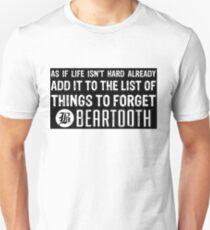 Beartooth Lyrics T-Shirt
