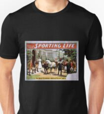 Performing Arts Posters Cecil Raleigh Seymour Hicks great English play Sporting life 2030 T-Shirt