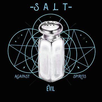Salt Against Evil Spirits by ellie-ant