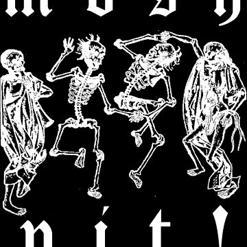 Mosh Pit! Sticker by Imago-Mortis