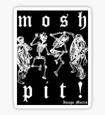 Mosh Pit! Sticker Sticker
