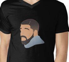 Drake 2 Mens V-Neck T-Shirt