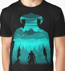 Dragonborn Silhouette Graphic T-Shirt