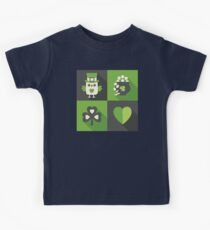 Irish Eyes Are Smiling Kids Tee