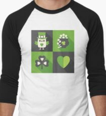 Irish Eyes Are Smiling Men's Baseball ¾ T-Shirt
