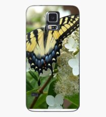 Yellow Tiger Swallowtail by Elisabeth and Barry King™ Case/Skin for Samsung Galaxy
