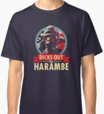 Hail to the Chimp (Dicks out for Harambe) Classic T-Shirt