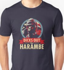 Hail to the Chimp (Dicks out for Harambe) Unisex T-Shirt