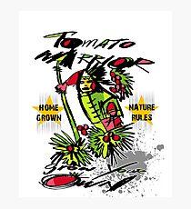 tomato warrior Photographic Print