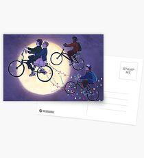 Sranger Things Postcards