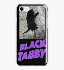 Black Tabby  iPhone Case/Skin