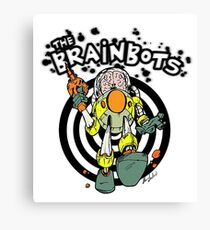 Brain Bots Canvas Print