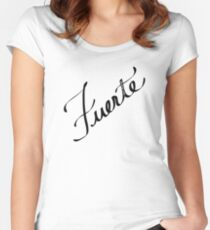 Fuerte Women's Fitted Scoop T-Shirt
