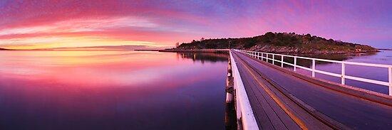 Granite Island, Victor Harbour, South Australia by Michael Boniwell