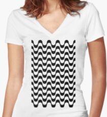 Copacabana Women's Fitted V-Neck T-Shirt