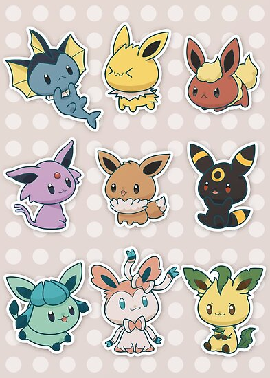 The gallery for --> Eeveelutions Chibi