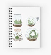 Terrariums Spiral Notebook